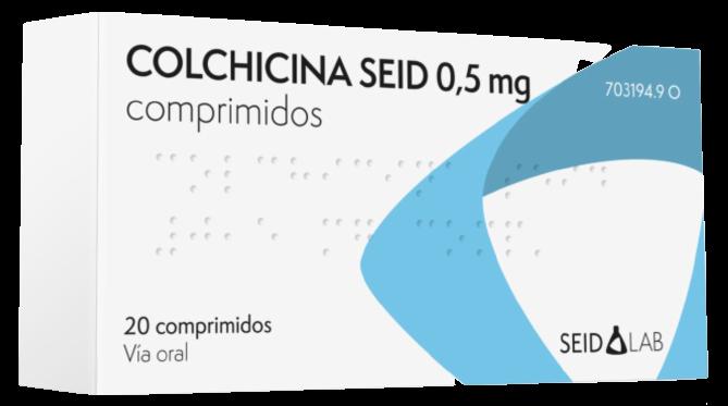 Colchicina_05_mg-es de SEID Lab laboratorios