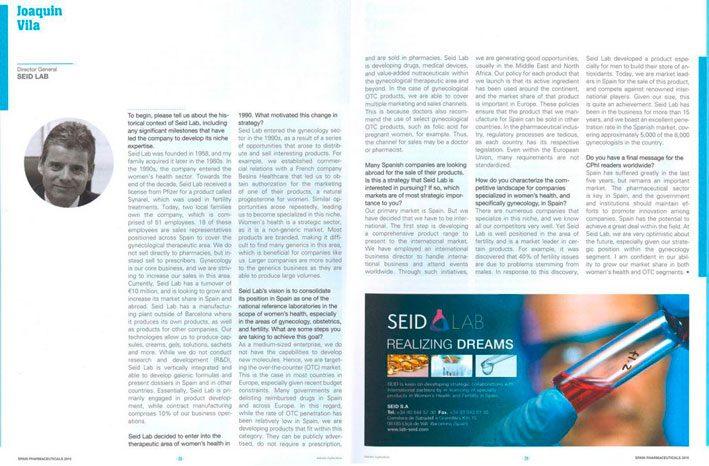Entrevista Joaquin Vila Dir Gen de SEID Lab