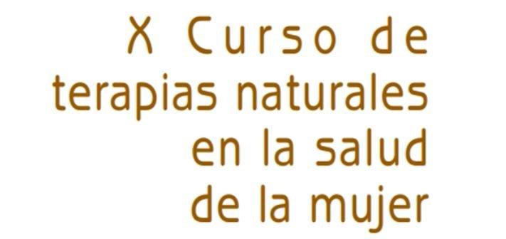 X curso terapias naturales SEID Lab